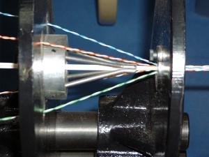 buncher-5-1-cross separator fixture